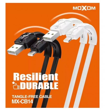 MOXOM MX-CB14 High Speed USB Data Cable / 2.4A Qualcomm 3.0 Fast Charging High Speed Data Sync