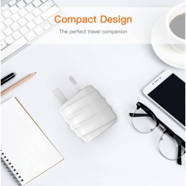 MOXOM KH-55 MICRO 2.4A FAST CHARGING UNIVERSAL DUAL USB PORT CHARGER ADAPTER