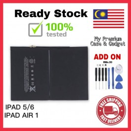 [100% FULL CAPACITY] Battery iPad 1, 2, 3, Air, Mini, Mini 2 High Quality Replacement Spareparts Add-On Tools