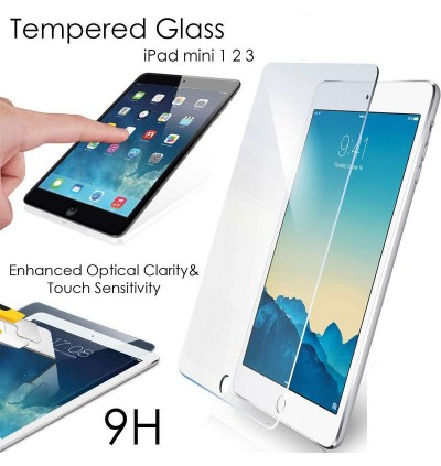iPad 1/2/3, iPad Mini 1/2/3/4, iPad Air, iPad Pro Tempered Glass Clear