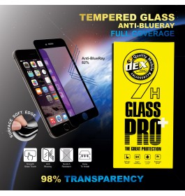 iPhone 6/6S, 6 Plus/6S Plus, 7/8, 7 Plus/8 Plus, iPhone X Anti Blue Ray Full Cover Tempered Glass