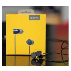 Realme Buds 3.5mm Wired Earbud In-ear mi Bass Subwoofer Stereo Earphones Hands-free With Mic