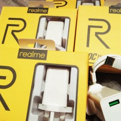 [ORIGINAL] Oppo Realme VOOC Flash Charger, Flash Data Line Mini 2.4A Flash Charging, 5V With Micro USB Cable Support VOOC Charge