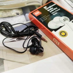 Xiaomi Mi 63M In Ear Headphones Basic Standard Earphone 3.5mm Jack Headset Stereo Bass Sound With Mic