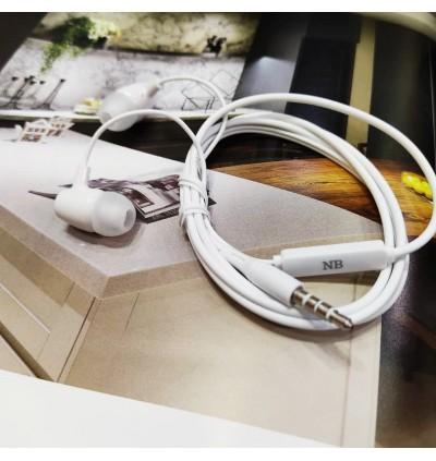 NOBLOCK N03 In Ear Headphones Basic Standard Earphone 3.5mm Jack Headset Stereo Bass Sound With Mic