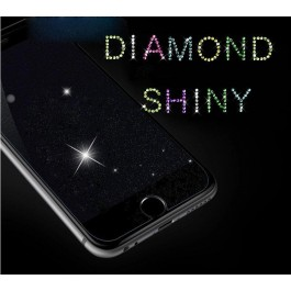 iPhone 5/5S/5C/SE, 6/6S, 6 Plus/6S Plus, 7/8, 7 Plus/8 Plus Diamond Shinny Tempered Glass