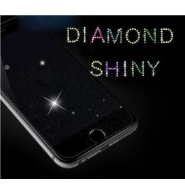 iPhone 5/5S/5C/SE, 6/6S, 6 Plus/6S Plus, 7/8, 7 Plus/8 Plus Diamond Shinny Tempered Glass