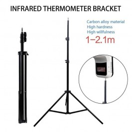 2m Meter K3 K9 Infrared Non-Contact Digital Thermometer for Temperature Scanner Ring Light Stand Metal Long Tall Studio Tripod