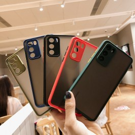 Oppo A31, A3S, A53(2020), A92 Matte Transparent Full Camera Protection Anti Shockproof Case