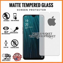 [AG MATTE] iPhone 5/5S/5C/SE, 6/6S, 6 Plus/6S Plus, 7/8/SE 2020, 7 Plus/8 Plus, X/XS, XR, XS Max Anti Fingerprint Full Glue Gaming Tempered Glass
