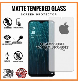[AG MATTE] iPhone 5/5S/5C/SE, 6/6S, 6 Plus/6S Plus, 7/8/SE 2020, 7 Plus/8 Plus, X/XS, XR, XS Max Anti Fingerprint Full Glue Gaming Tempered Glass