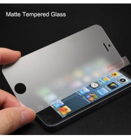 iPhone 5/5S/5C/SE, 6/6S, 6 Plus/6S Plus, 7/8, 7 Plus/8 Plus, X/XS, XR, XS Max Matte Anti Fingerprint Tempered Glass