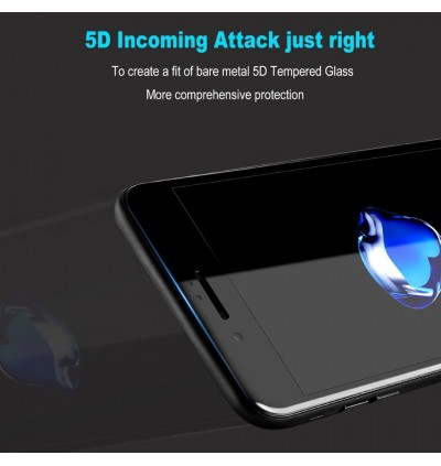 iPhone 6/6S, 6 Plus/6S Plus, 7/8, 7 Plus/8 Plus 9H Hardness 5D Full Cover Tempered Glass