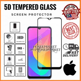 [FULL COVER] iPhone 6/6S, 6 Plus/6S Plus, 7/8, 7 Plus/8 Plus 5D/9D Premium Edge To Edge HD Full Glue Tempered Glass