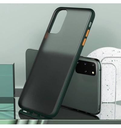 [READY STOCK] Redmi Mi 10T, Poco X3 Luxury Matte Transparent Shockproof Hybrid Silicone PC Hard Case