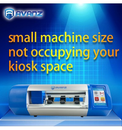 [ORIGINAL] AVANZ Professional Intelligent Cut DIY Clear HD Matte Blue Ray Screen Protector All Phone Model Smart Machine