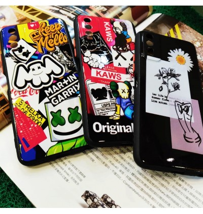 Vivo Y11/Y12/Y15/Y17, Y21, Y21S Cool Printing Street Fashion AntiDrop Soft TPU Case
