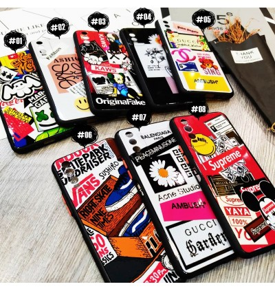 Oppo A15 Cool Printing Street Fashion AntiDrop Soft TPU Case