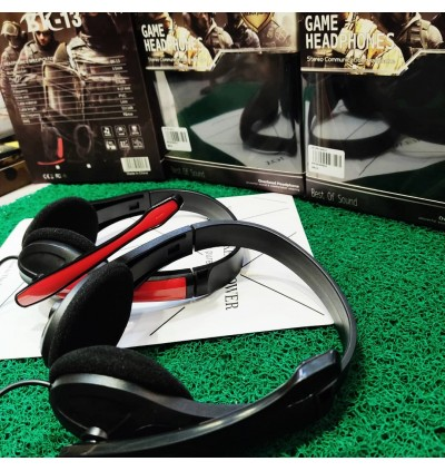[SPECIAL SALES ] BK18, BK13 Stereo Mobile Gaming Headphones PUBG Stylish Adjustable HiFi Audio EXTRA BASS MP3 Music Gaming With Mic