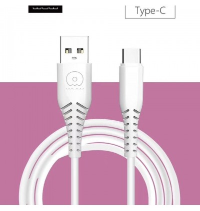 [ORIGINAL] WUW X152 Micro, Type C Quick Charge & Data Sync USB Cable For All Android Smartphone 1 Meter