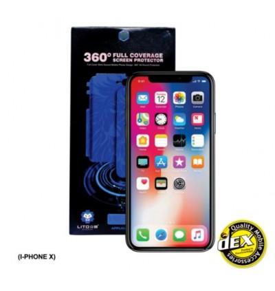 iPhone 6/6S, 6 Plus/6S Plus, 7, 7 Plus, 8, 8 Plus, iPhone X, XR, XS, XS Max LITO Nano Slim Full Cover Screen Protector