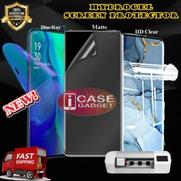 Oppo Reno 2 2F 3 4 5 Pro6.4 6.6 10X Zoom Hydrogel Extreme Shock Eliminator Full Cover Screen Protector Film Like X-One