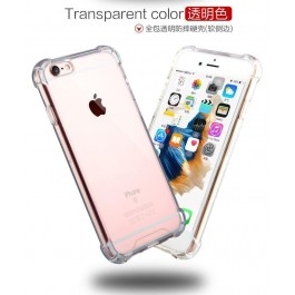 iPhone 4/4S, 5/5S/SE, 6/6S, 6 Plus/6S Plus, 7/8, 7 Plus/8 , 11 ,Plus , Pro  , X/XS, XS Max TPU Transparent Anti Shock Silicone Case