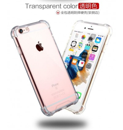 iPhone 4/4S, 5/5S/SE, 6/6S, 6 Plus/6S Plus, 7/8/SE 2020, 7 Plus/8 Plus, X/XS, XS Max, 11, 11 Pro, 11 Pro Max TPU Transparent Anti Shockproof Silicone Airbag Case