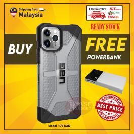 [UAG FREE POWERBANK] iPhone 11, 11 Pro, 11 Pro Max, X/XS UAG Urban Armor Gear Plasma Transparent Full Protection Case