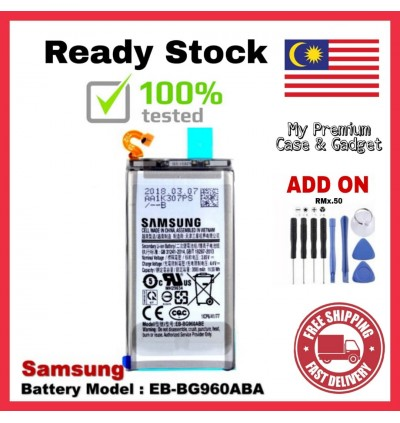 [100% FULL CAPACITY] Battery Samsung Galaxy S, S2, S3, S3 Mini, S4, S4 Mini, S5, S6, S6 Edge, S7 Edge, S8, S8 Plus, S9, S9 Plus, S Advance High Quality Replacement Spareparts