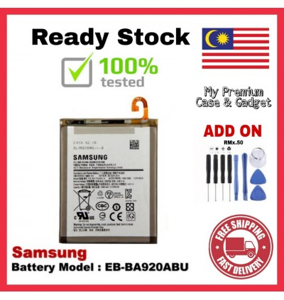 [100% FULL CAPACITY] Battery Samsung Galaxy A3 2015, A3 2017, A5 2015, A5 2016, A5 2017, A6 2018, A7 2015, A7 2017, A8 2016, A8 Plus 2018, A9High Quality Replacement Spareparts