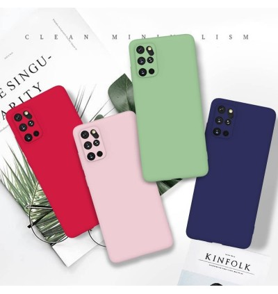 [FULL COVER] Xiaomi Redmi Note 10 Official Liquid Candy Color Silicone Soft Full Camera Protection Cover Case