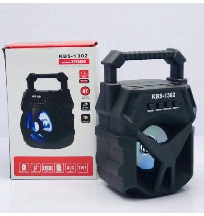 Portable Wireless Speaker KBS1302 Bluetooth With FM radio USB/TF/AUX/BT Mini MP3 Clear Sound Super Bass