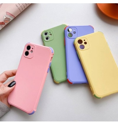 [NEW ARRIVAL] Redmi Note 10,Note 10 Pro,Mi 11 Lite,Poco X3 Pro Liquid Soft Edge CANDY Silicon Four-corner TPU Case Cover