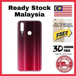 Vivo Y12/Y15 2019, Y17 2020 Back Battery Cover Housing Sparepart Replacement FREE Back Carbon Fiber Sticker