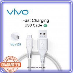 Vivo 5A Super Flash Fast Charging & Quick Data Sync Android USB Cable Like Qualcomm QC 3.0 1 Meter