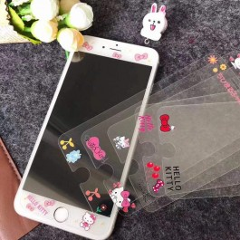 iPhone 6/6S & 6 Plus/6S Plus New Cartoon HD Clear Tempered Glass