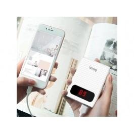 ORIGINAL HOCO B20 Powerbank 10000mAh Portable Mobile Phone Charger Dual LED