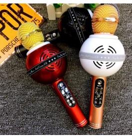 WSTER WS878 KTV Karaoke Mic Wireless Portable Bluetooth Microphone Speaker