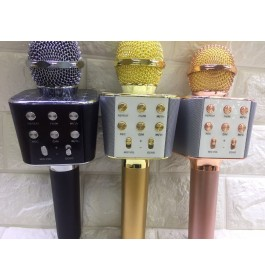 WSTER WS1688 KTV Karaoke Mic Wireless Portable Bluetooth Microphone Speaker