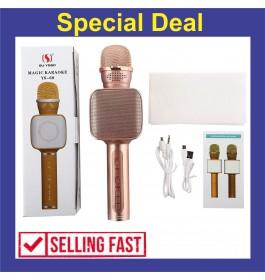 SU YUSD YS68 KTV Karaoke Magic Wireless Bluetooth Microphone Speaker With LED Light