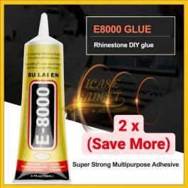 2 PCS ZHANLIDA E8000 T7000 15ml 110ml Multipurpose Adhesive Glue For Phone Back Cover Battery LCD Screen Digitizer
