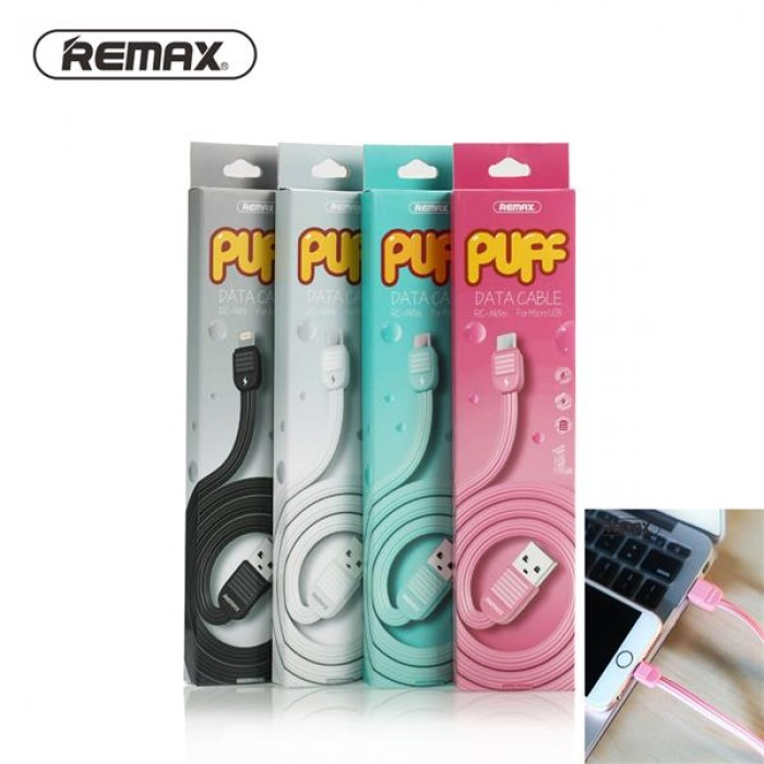 REMAX PUFF Data Micro USB Cable in Official Store Malaysia