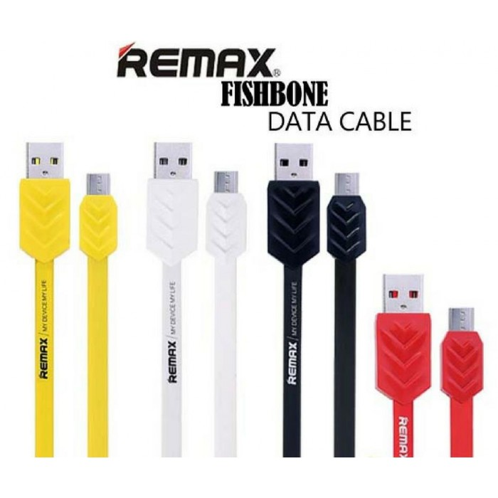 Remax Fishbone Micro USB Cable at Store | Mdex Online Store