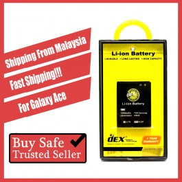 Battery DEX For Samsung Galaxy Ace 2/3, Core, Core Prime, Grand Prime, Mega 2/6.3, Mini