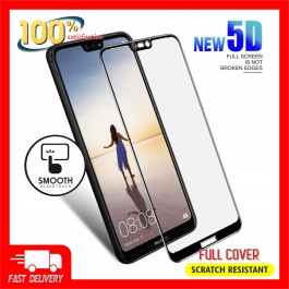 Huawei P20, P20 Pro, P30, P30 Pro 5D Full Cover 9H Hardness Tempered Glass