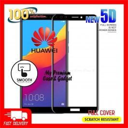 Huawei Nova 2 Lite, 2i, 3, 3i, 4, 4e, 5T 5D Full Cover 9H Hardness Tempered Glass