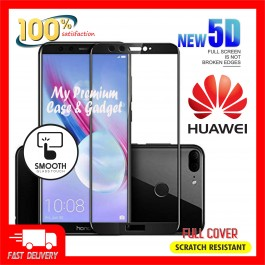 Huawei Honor Play, Honor 8X, Honor 9 Lite, Honor 10, View 10 5D Full Cover 9H Hardness Tempered Glass