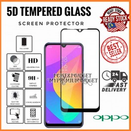 [FULL COVER]  Oppo F5, F7, F9, F11, F11 Pro  5D/9D Premium Edge To Edge HD Full Glue Tempered Glass