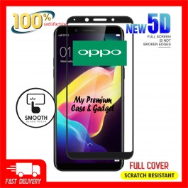 Oppo F5, F7, F9, F11, F11 Pro 5D Full Cover 9H Hardness Tempered Glass